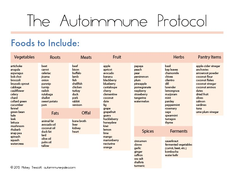 The Autoimmune Protocol - The Tasty Alternative