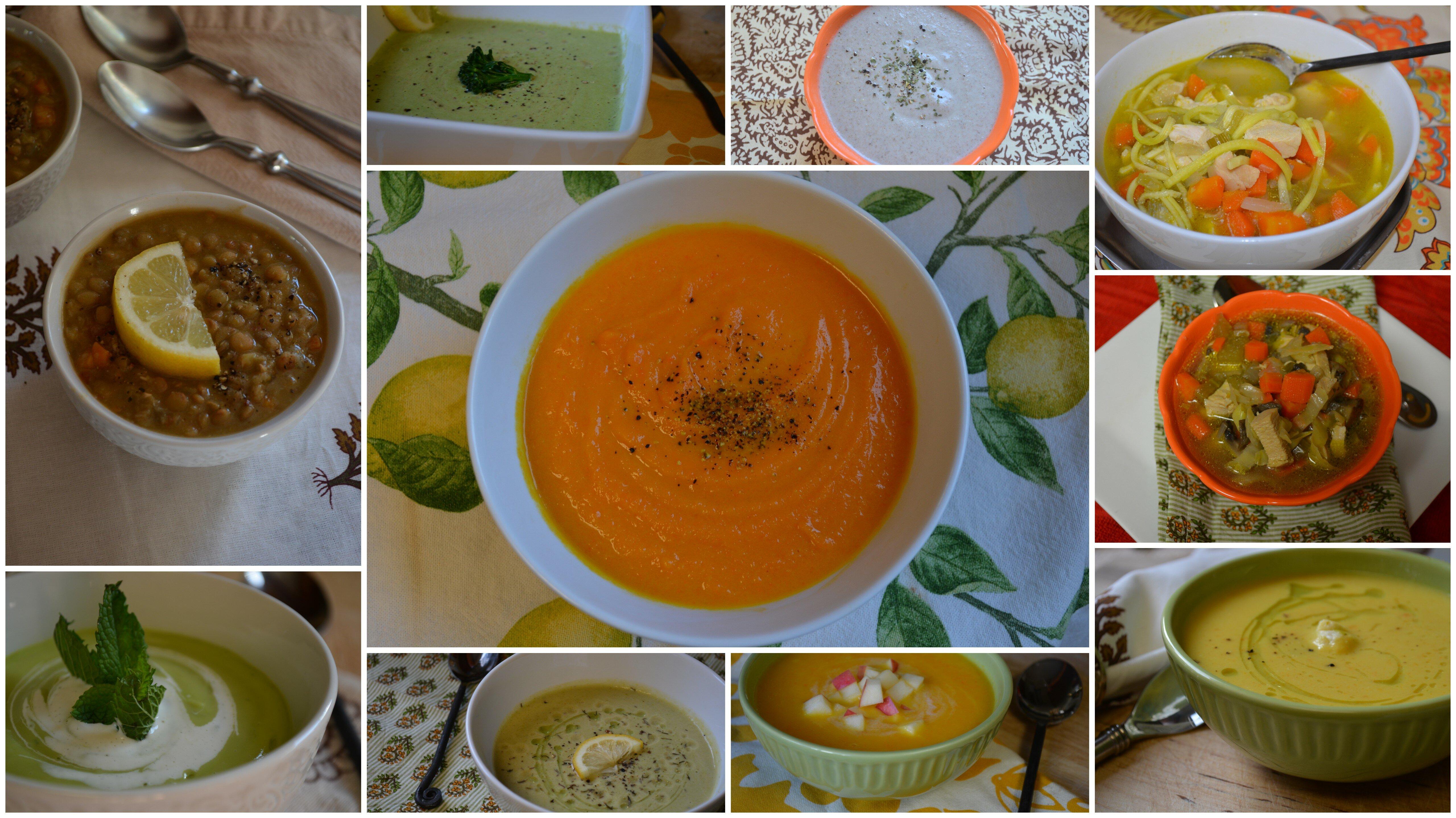 soups stalks sauces