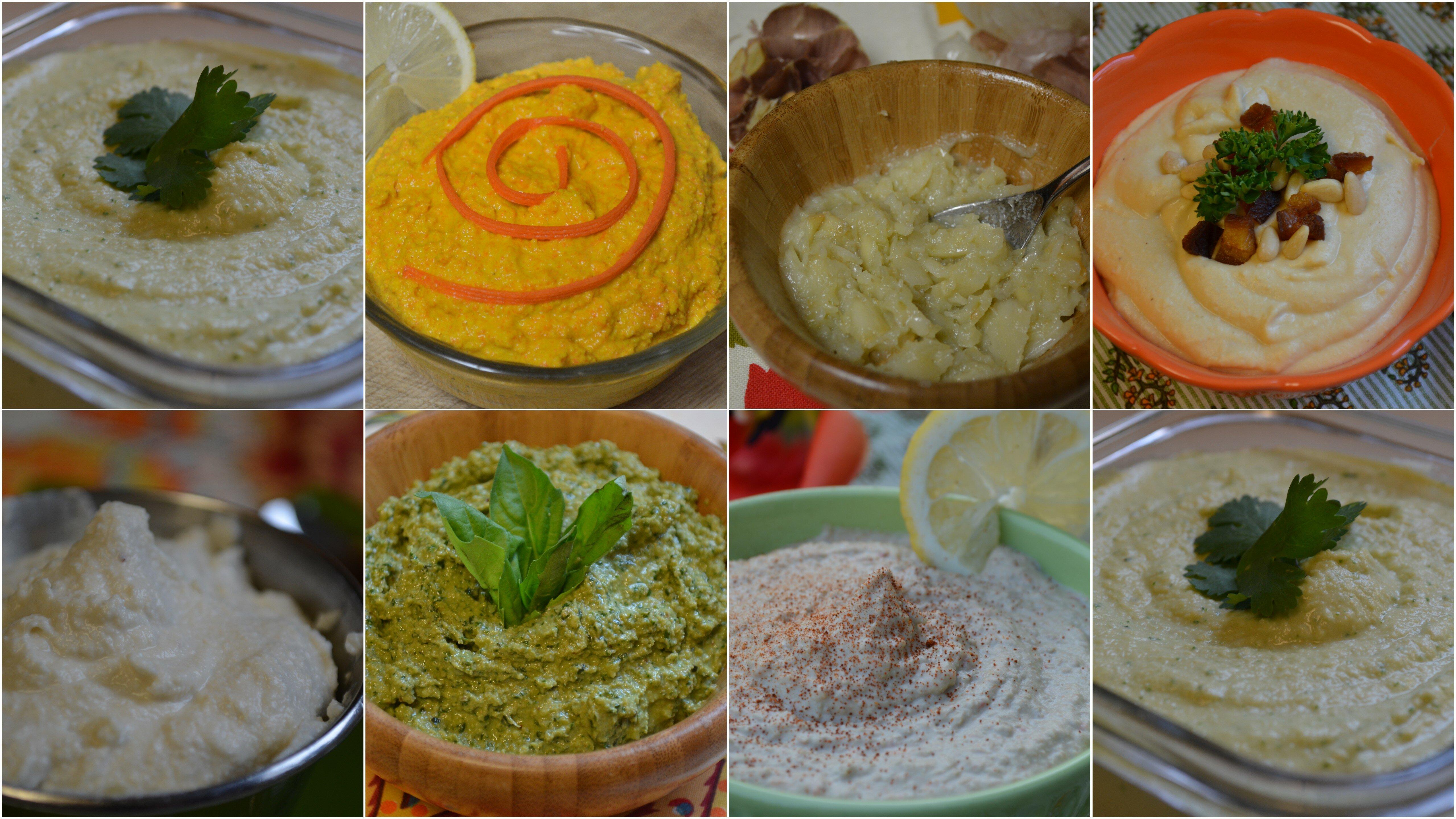 Dips & Spreads - The Tasty Alternative