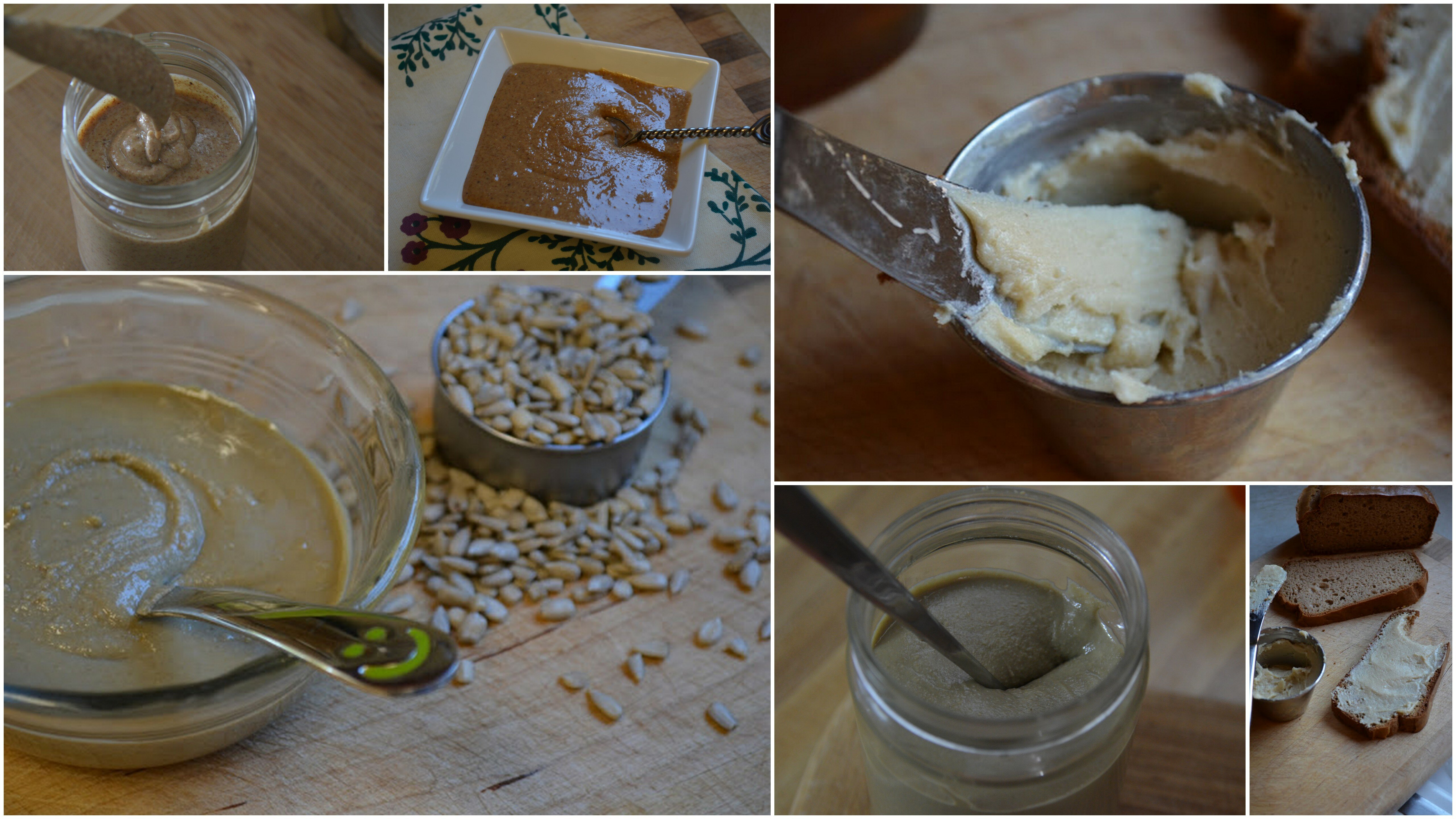 nut and seed butters