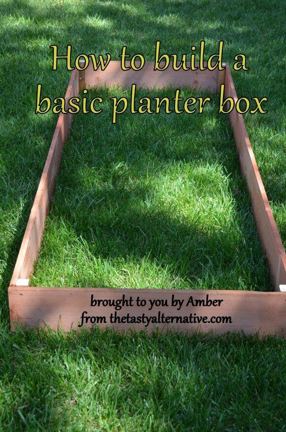 planter box text