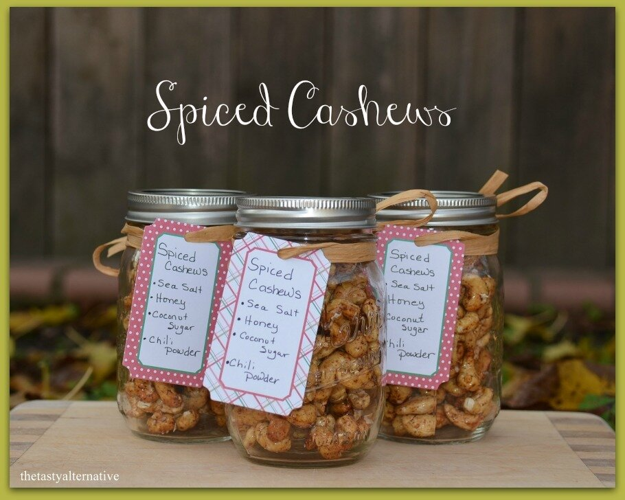 Spiced cashews
