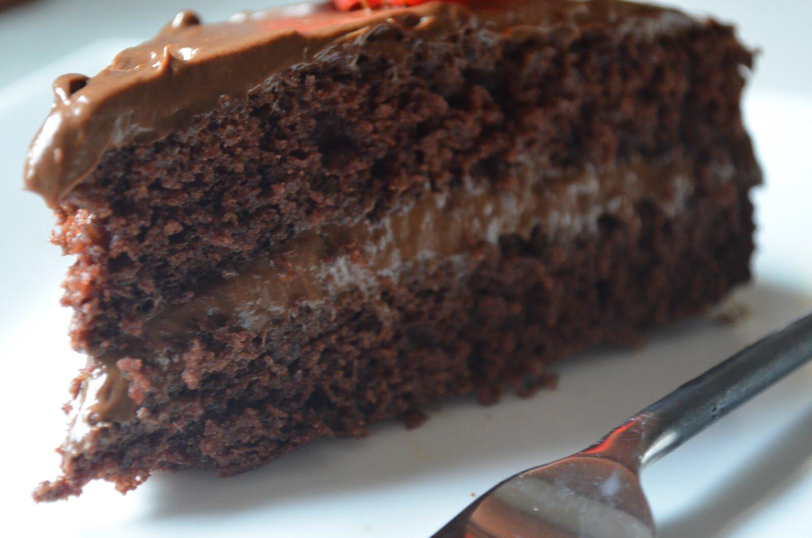 DOUBLE CHOCOLATE CAKE - Durmes Gumuna